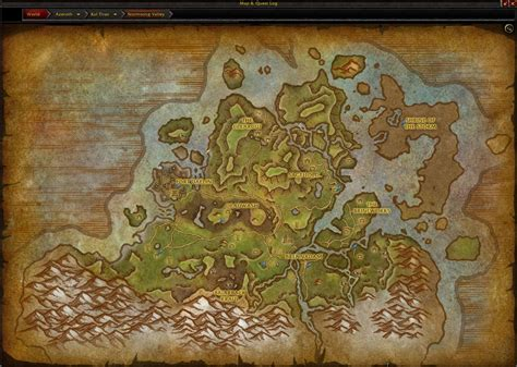 Battle for Azeroth Maps