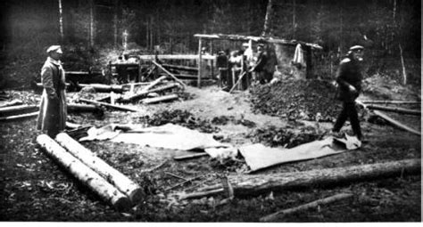 Four Brothers Mine - Temporary Graves of the Romanov Family