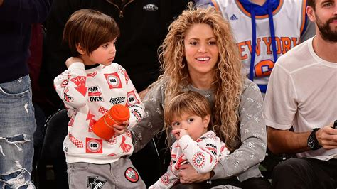 Shakira and Gerard Pique's Adorable Sons Are Budding