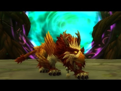 New Druid Artifact Cat Forms by Race   Legion Patch News