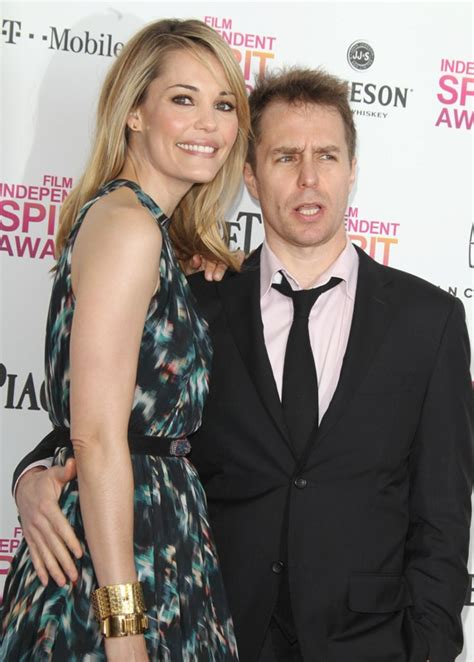 Sam Rockwell and Leslie Bibb at the 2013 Film Independent