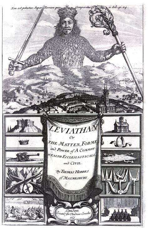 Hobbes' Leviathan   Photopoetry by Crazy Horse