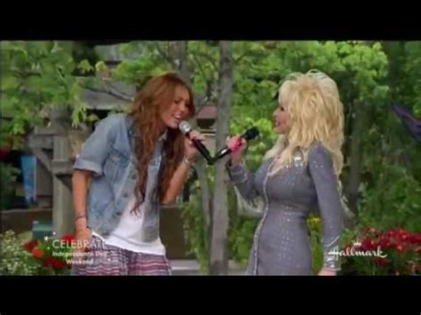 Miley Cyrus and Dolly Parton Singing 'Jolene' - YouTube