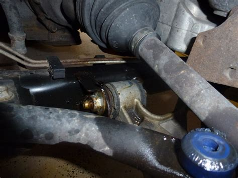 Replaced front lower control arms 2001 Bonneville - GM
