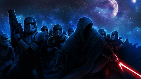 Stormtroopers Darth Vader Wallpapers | HD Wallpapers | ID