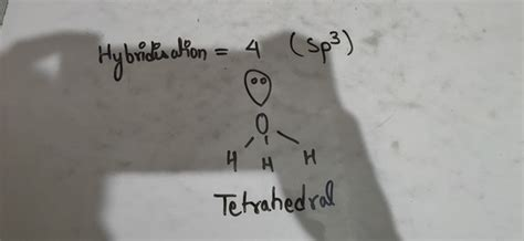 What is the hybridization of H in H3O+? - Quora