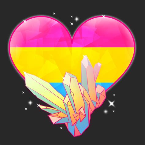 DoodleLust - In solidarity, I made some Pride crystals
