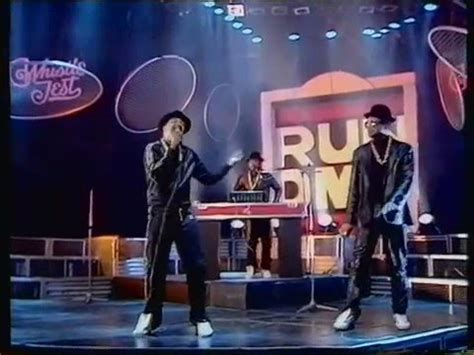 Run DMC You Be Illin, Its Tricky Live The Whistle Test