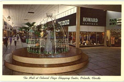 The Mall At Colonial Plaza Shopping Center Orlando, FL
