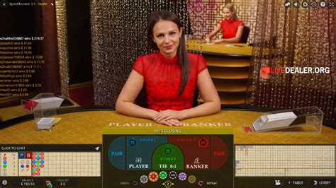 Playing Evolution's new Speed Baccarat   Livedealer
