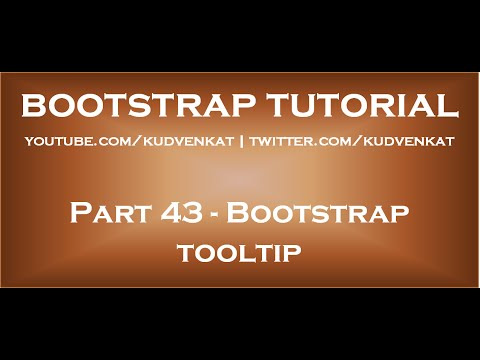 Simple and Custom Bootstrap 4 Tooltips: 6 Examples