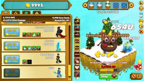 Clicker Heroes Overview | OnRPG