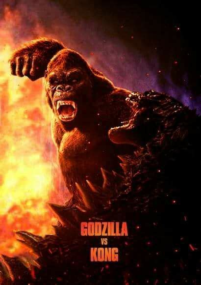"""The """"unofficial"""" poster for LEGENDARY's KING KONG VS"""