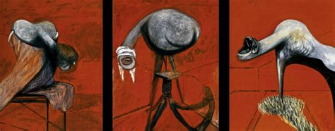 Francis Bacon - Three Studies for Figures at the Base of a