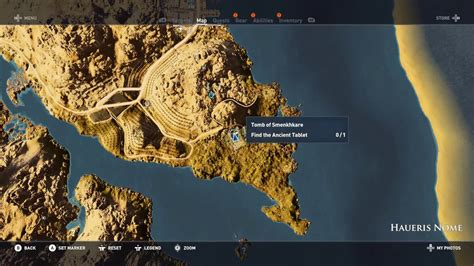 Assassin's creed origins tomb of Smenkhkare - YouTube