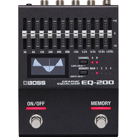 BOSS EQ-200 Graphic Equalizer   Andreasson Musik
