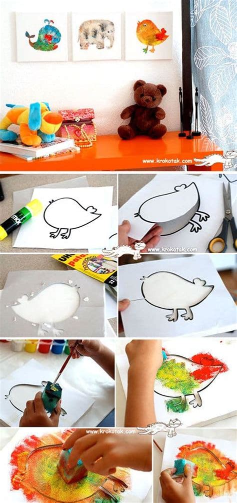 19 Fun And Easy Painting Ideas For Kids   Homesthetics
