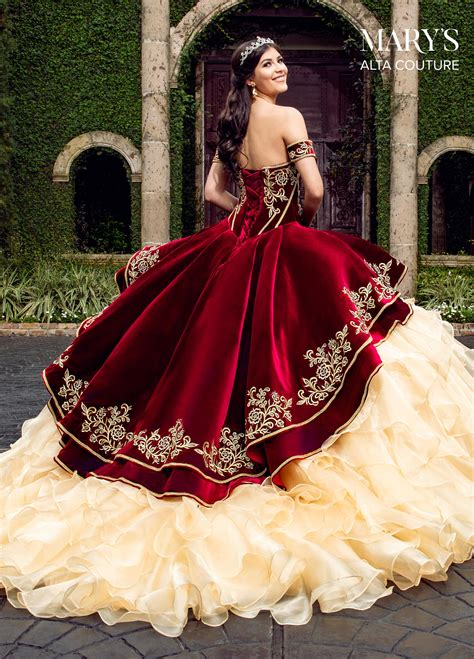 Quinceanera Couture Dresses | Style - MQ3037 in Navy/Gold